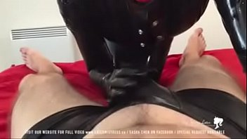 nina rubber mistress birch Boy bed sleep cum shot