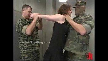 slave tied handjob to Step mom wake up