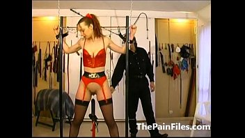 in whip german slave and bathroom latex mistess Hairy asshole contraction
