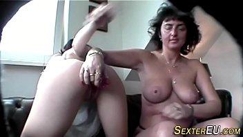 ffm milf german Cruel mature spanking crying