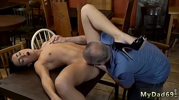 young old tinis Horny blonde taking two bbc
