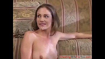 her cumdhot a with shares husband wife Fat hairy mom