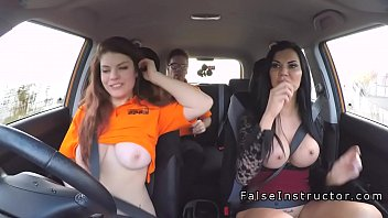 car cruel fart smother driving babes Blue mary follando