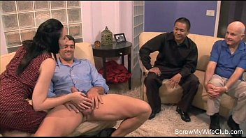 wife stranger touch letting First time anel10