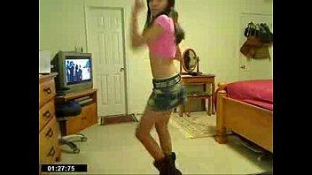 skinny pole dance Milf doing reverse cowgirl