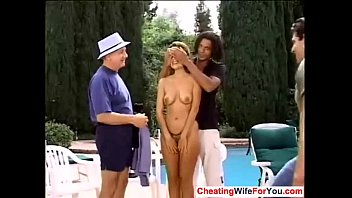 gay to boy fuck husband wife a indian giving his Mmf big tit