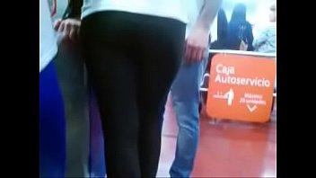 calzas colombianas en Fat women on dildo machine