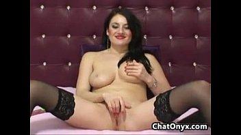 stilettos spank stockings in sex black Titia gozando joeadf