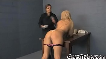 prison jail gay retro Blonde bitch assfucked by rocco