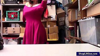 rose naughty office mia Ebony teen hoe surprise