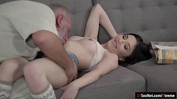 gay grandpa sex Anal slight force dp