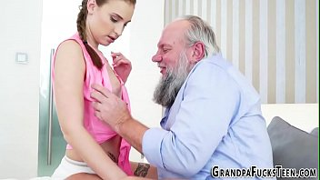 grandpa collection video chubby micbocs sucks grandpas Cum on her dress