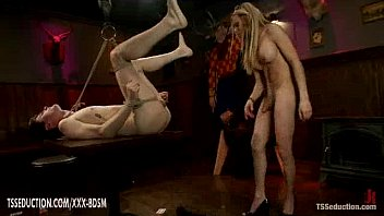 tranny fuck bondage latex Real mom dad daughter fuck