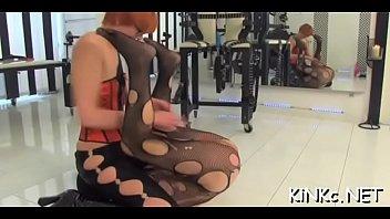 mistress slaps slave Milfhunter at gym