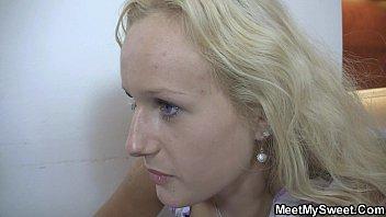 shower after mom seduces Tiffany holiday cum