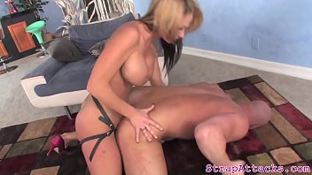 give wife husband watches a handjob Asked wife to strip
