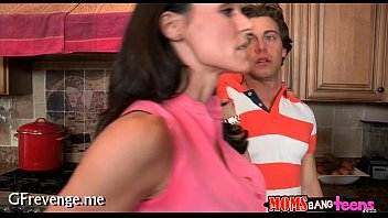 teen old casting Raped russian mom