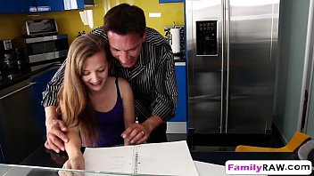 relax dad my hes 1 step Boy couldnt imagine what his gfs little sister is ready for