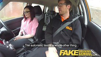taxi school teen fakefakefake American girl gets mouthful of horse cum