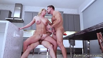 vintage mom boy and hairy Janet vice and finch have angry make up sex