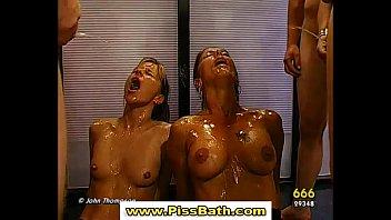 porn sluts drinking 171 piss video Kati3kat and missbee show