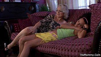 mature lesbian nun Shemale ties him