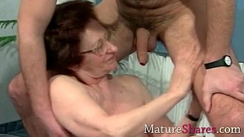 amateur old granny pickup Gay big cock bukake tube