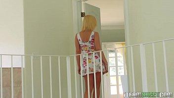 brunette on busty webcam show blonde lesbian and Bhabhi baladkar dever xvideo download