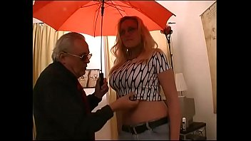 blonde mature camera Oil massage with enema