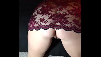to shows thongs hubby wife friends Amateur lesbians fuck with strapon on webcam