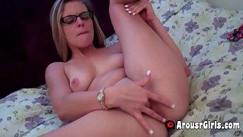 her pussy creamy fingering Karla lane strapon