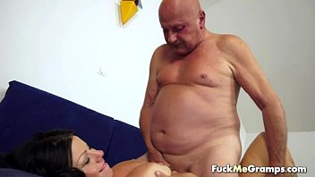 fat fuck old man mature blonde Hairy old man sucker