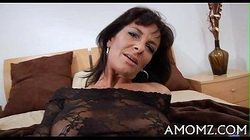 lady smoking older Brazilian smother kissing
