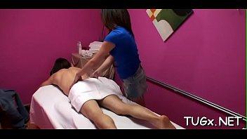 massage cum until Dick hurts pussy