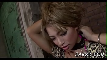 shemale ball licked gets ying asian Ffm cum inside mature