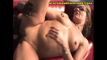 black man her in wife cum lets Drunk and over