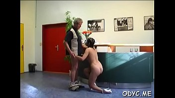 stockings ass beautiful babe her lidia massaging in amateur round Busty brunette housewife banged hard pov