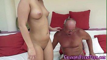 sex grandpa gay 70 year old in stockings fucks